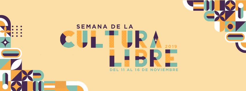 Cabezal de la Semana de la Cultura Libre 2019