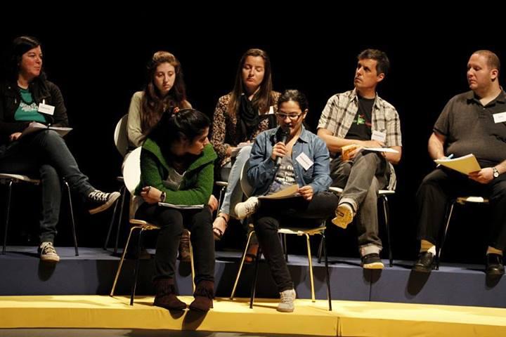 Foto: Panel ciudadano Sumar, en Sumar.uy