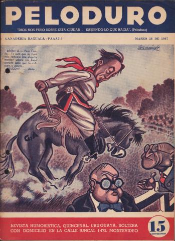 Tapa de Peloduro n° 68. 26/3/1947