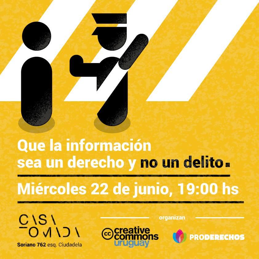Que la información sea un derecho y no un delito