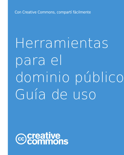 folleto dominio público